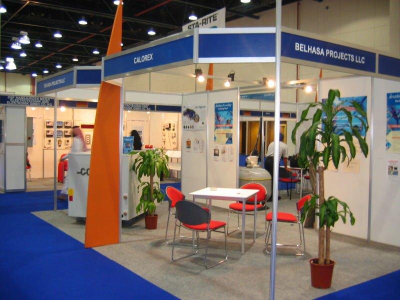 Shell Scheme Exhibition Stands : Shell scheme printing dubai
