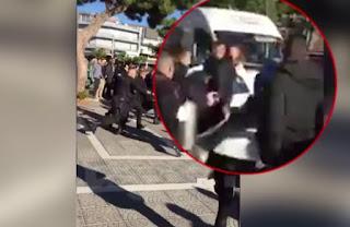 Βίντεο - Ντοκουμέντο: Μαχαίρωσε για μια κλήση δυο Αστυνομικούς - Επεισοδιακή σύλληψη του δράστη
