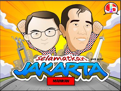 Game Jokowi: Selamatkan Jakarta