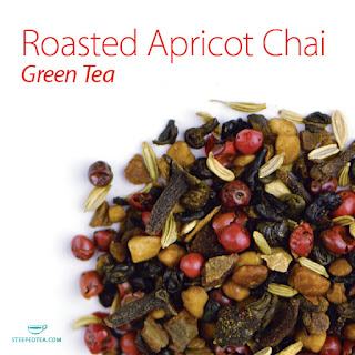 Roasted Apricot Chai green tea