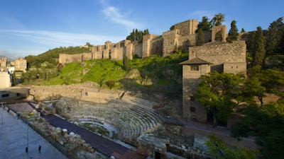 Benteng Kokoh Bersejarah Di Malaga, Spanyol