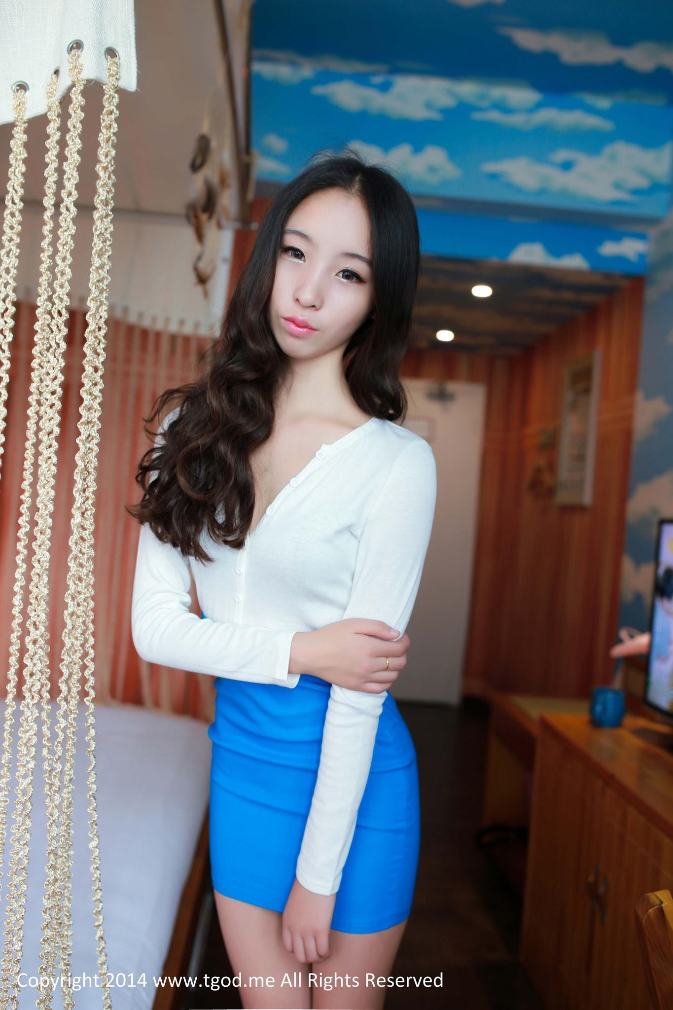 Zi Xuan 梓萱Crystal | Nude Chinese Loli-Like Model |TGOD_推女神 ...