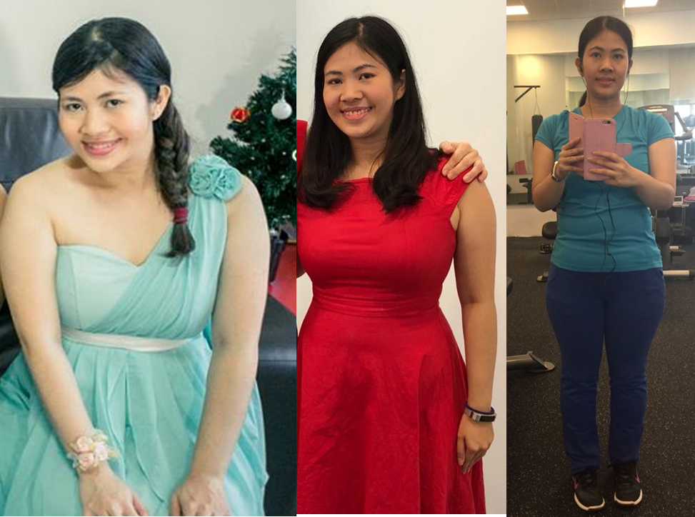 Sweet Bunny Singapore Fitness Blogger Before And After Workout And Weight Transformation