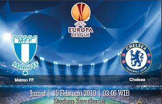 Prediksi Malmo FF Vs Chelsea 15 Februari 2019