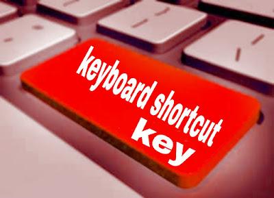 Keyboard shortcut, shortcut keys, computer shortcut keys