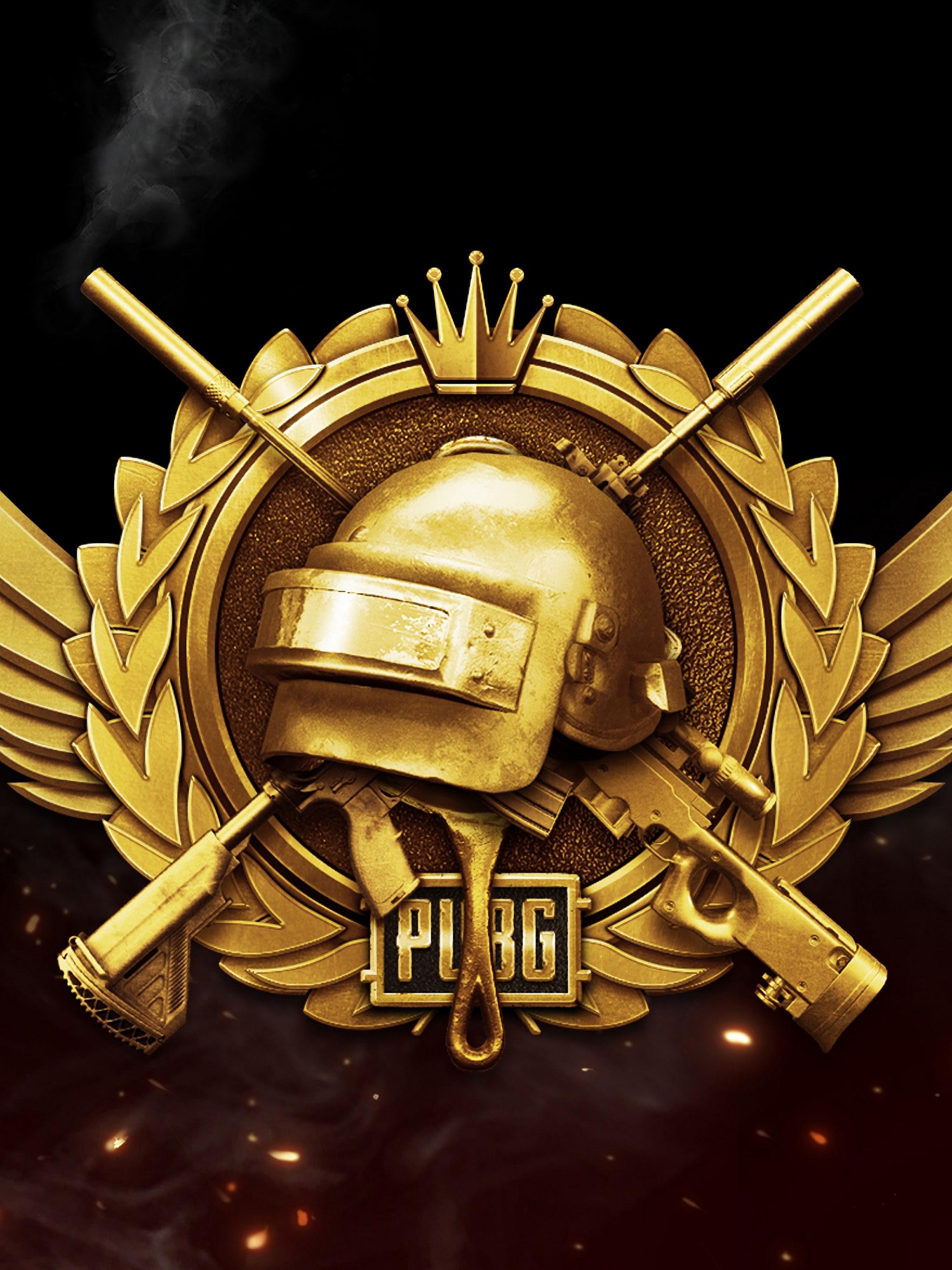 Pubg Lone Survivor Rank Logo Playerunknown S Battlegrounds 4k
