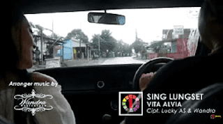 Lirik Lagu Sing Lungset - Vita Alvia