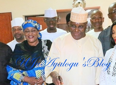 2019: Buhari's Minister, Aisha Alhassan Caught On Video Declaring Support For Atiku ...Watch Video Here
