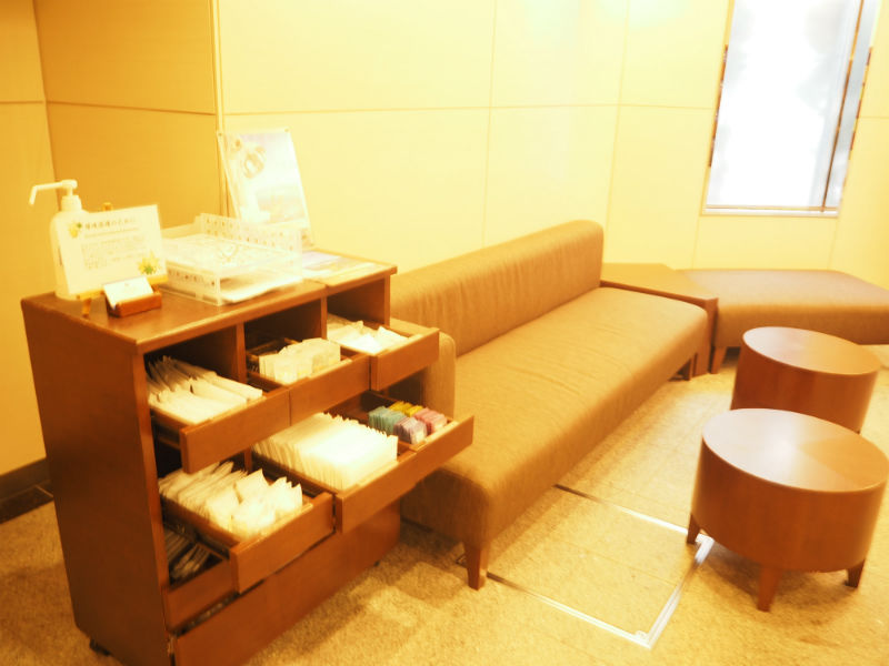 Hotel Mystays Kamata Reception Area