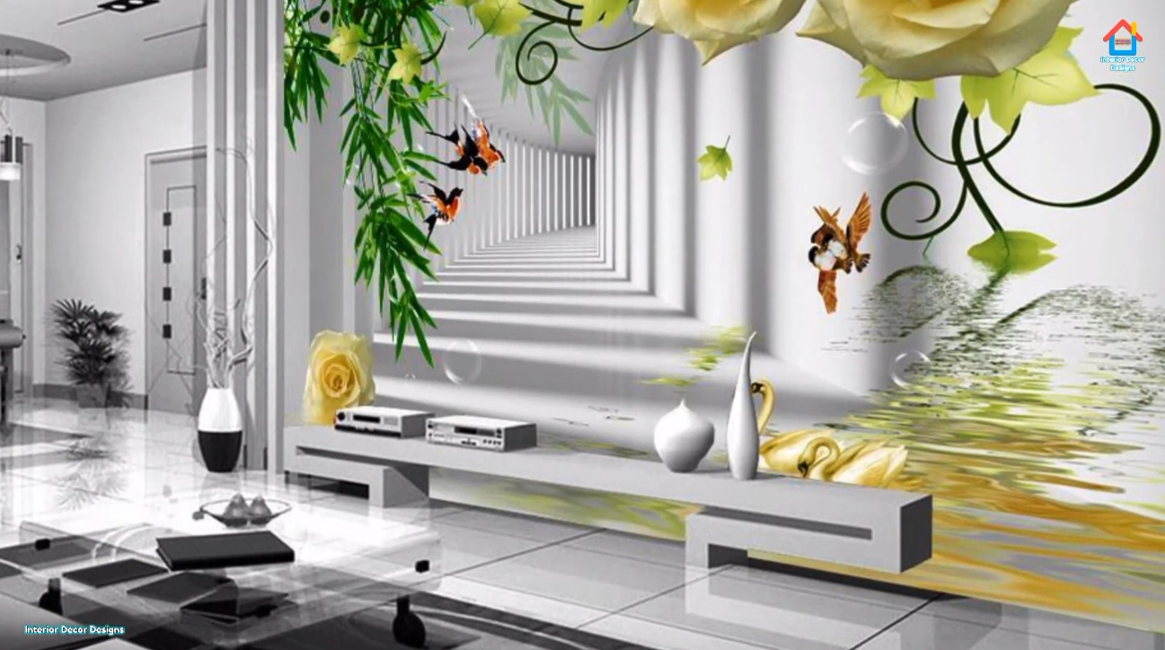 42 Photos vs. 140 Latest wallpaper designs for modern home interior | Stylish wallpaper in living room and bedroom
