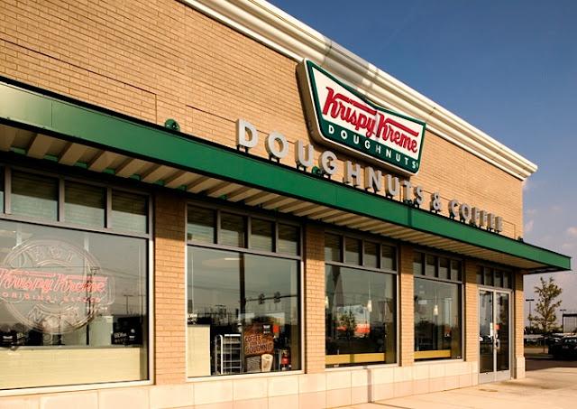 Krispy Kreme em Miami: fábrica de rosquinhas donuts
