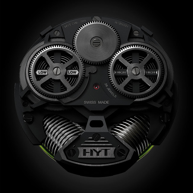 HYT H2 Watch machine