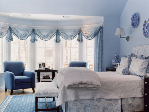 Some interior painting and decorating tips for choosing - Blue bedroom paint ideas ...