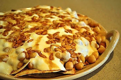 Fatteh Tahini Chickpeas with Yoghurt