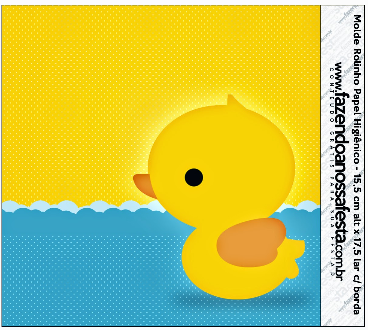 Rubber Duck Baby Shower Printables