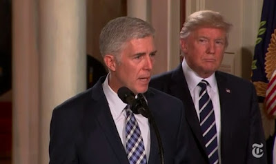 Judge Neil M. Gorsuch and Donald Trump