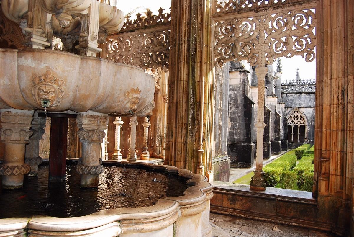 monastère de Batalha cloitre