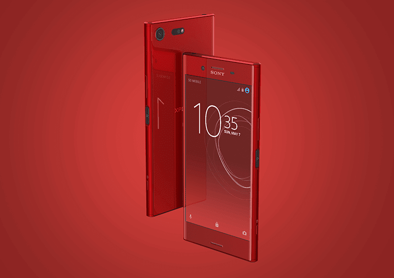 Sony launches Xperia XZ Premium in Limited Edition Rosso Colorway