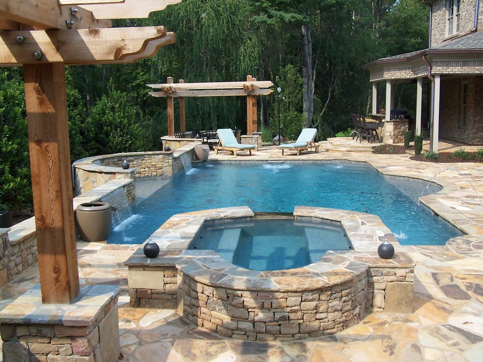 Backyard Oasis Pools Straight Line Pool Marietta