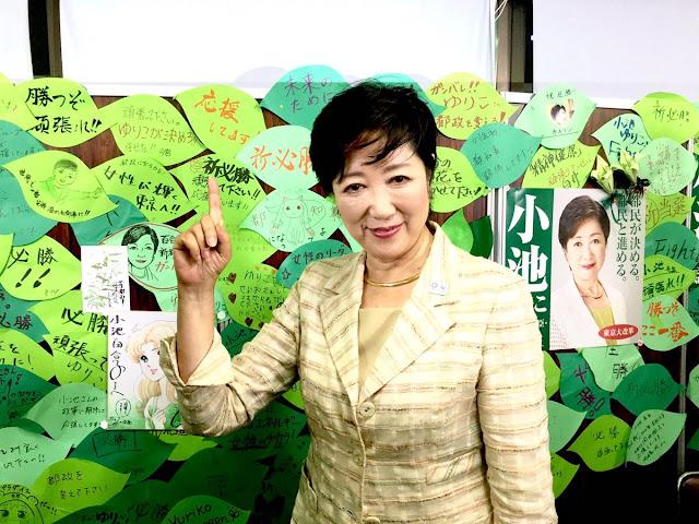 Yuriko Koike - nowa gubernator Tokio