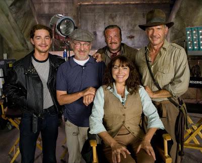 Spielberg detrás de las cámaras