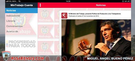 Talento SENA desarrolló aplicación móvil del Ministerio del Trabajo | Rosarienses, Villa del Rosario