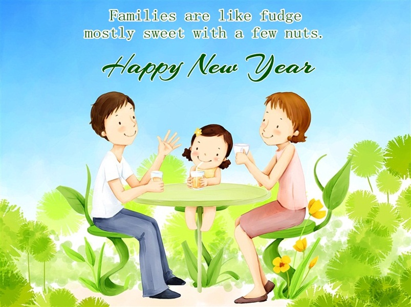 Funny New Year Greeting Picture