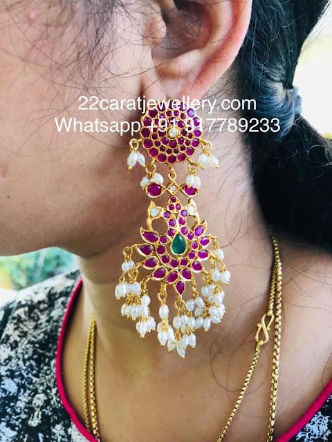 925 Silver Heavy Look Earrings