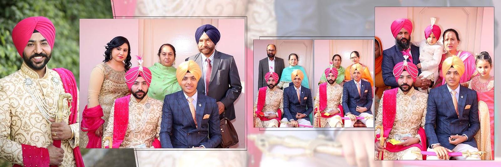 Hardev Arts Indian Album Psd Free Download 12x36