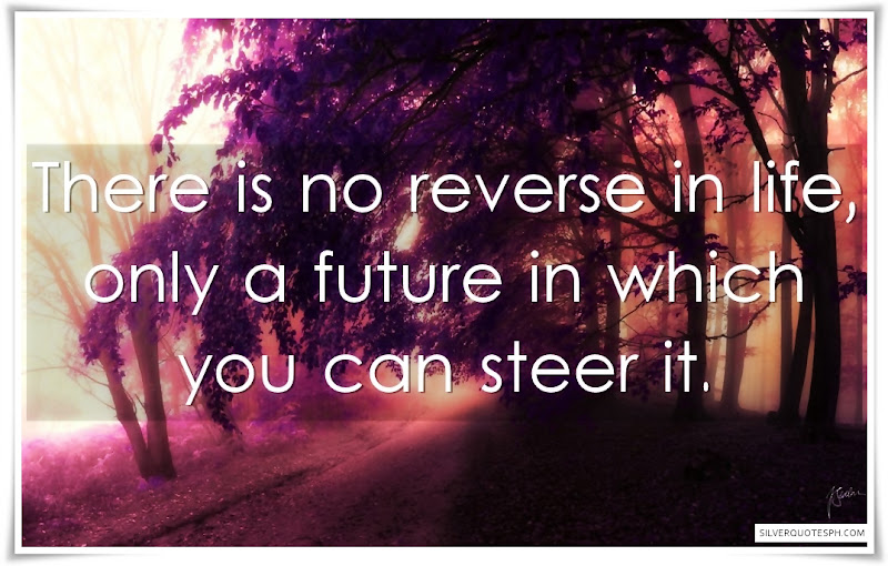 There Is No Reverse In Life