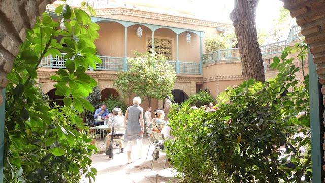 Café Majorelle im Jardin Majorelle, Marrakesch