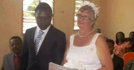 Young Nigerian Marry 86 years White Lady For Money