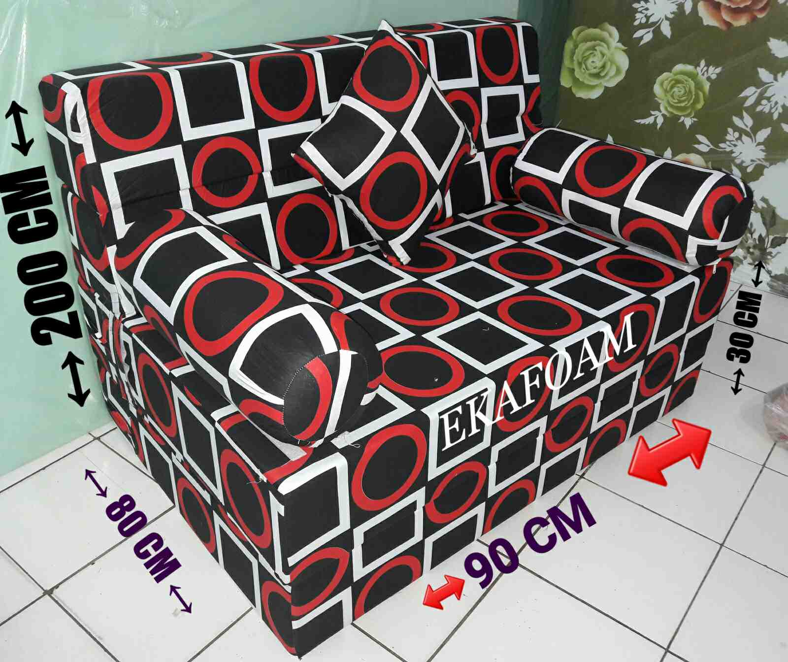 Harga Sofa Bed Inoac No 1 Sets Home Furniture Kasur Terbaru Oktober 2018 Agen Busa
