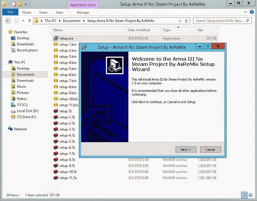 ArmA III No Steam Server By asremix - ArmA III No Steam Server By asremix