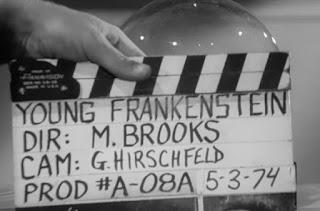 El rodaje de El jovencito Frankenstein