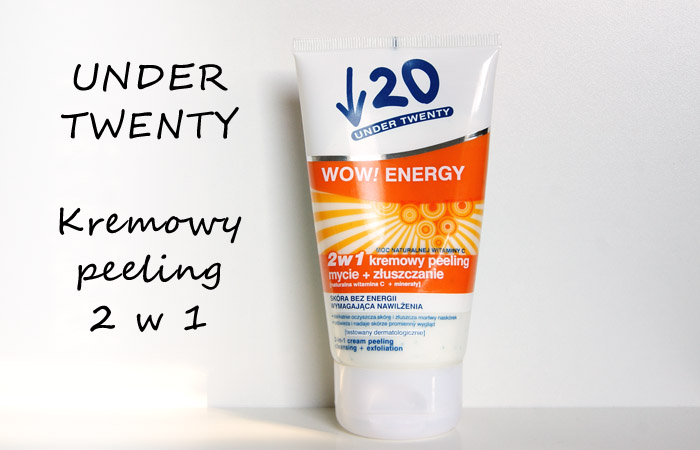 UNDER TWENTY - WOW! ENERGY - 2W1 KREMOWY PEELING