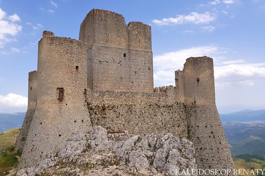 Rocca Calascio z bliska