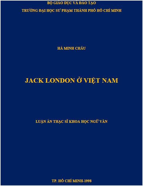Jack London ở Việt Nam