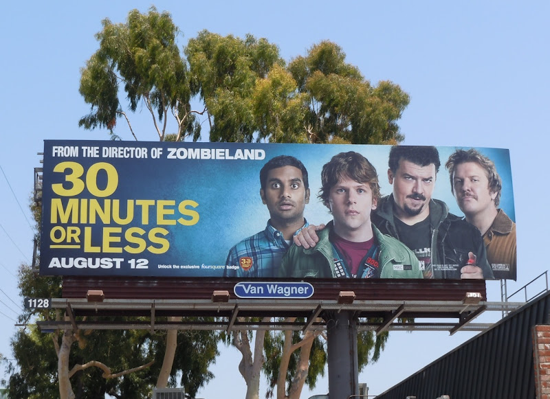 30 Minutes Or Less billboard