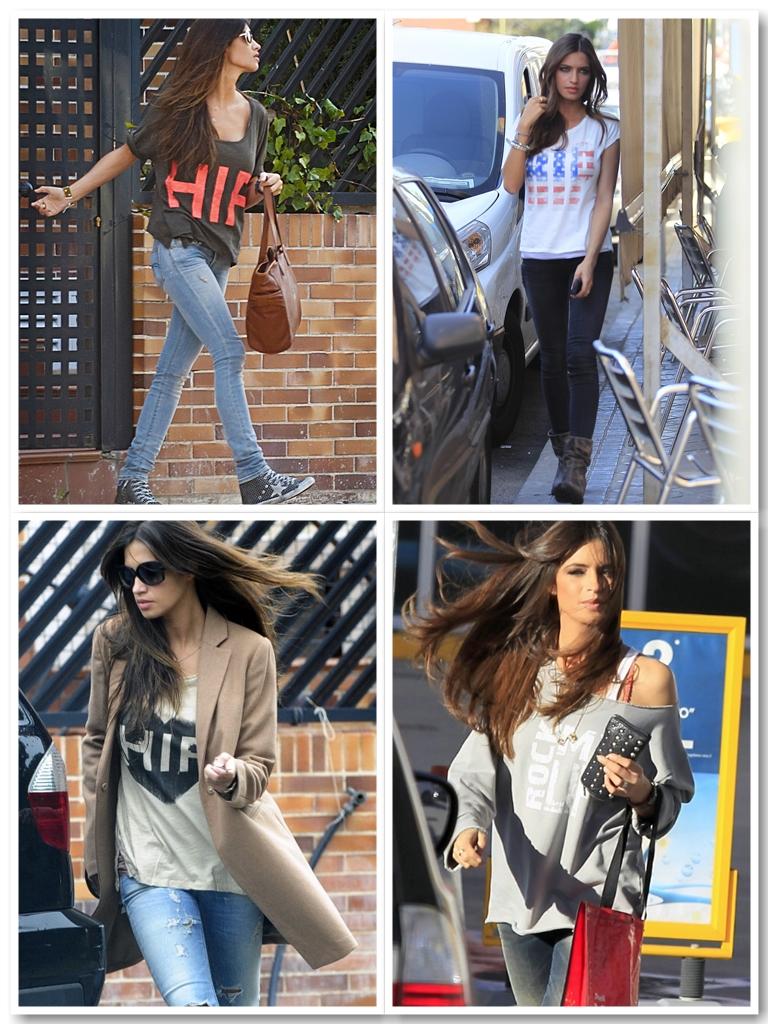 Sara carbonero style icon for the hipe tee blog de moda - Sara carbonero ropa vogue ...