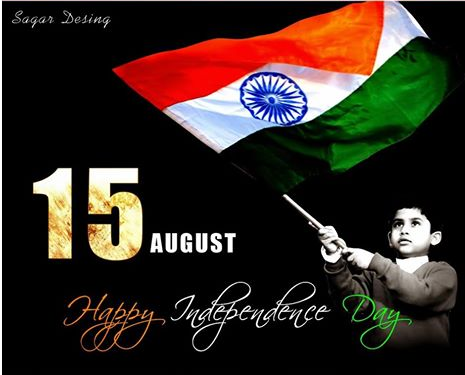 15th August Independence Day SMS, Messages, Status, Saying 2016