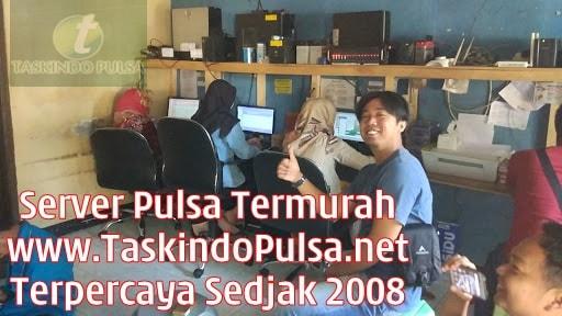 TaskindoPulsa.net Server Pulsa Elektrik Termurah Terpercaya Sejak 2008