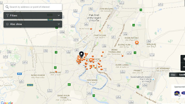 Chaopho Khao Tok Bangkok Map,Map of Chaopho Khao Tok Bangkok,Tourist Attractions in Bangkok Thailand,Things to do in Bangkok Thailand,Chaopho Khao Tok Bangkok accommodation destinations attractions hotels map reviews photos pictures