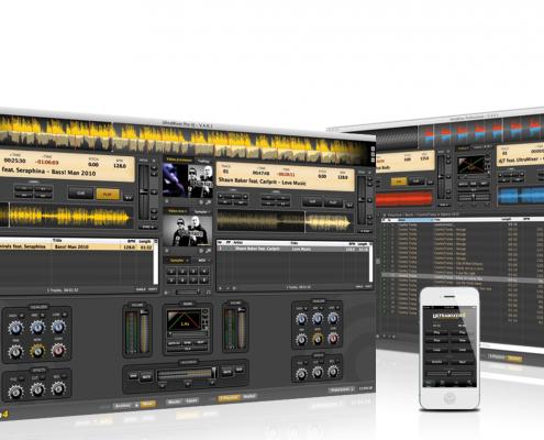 Ultramixer-Δωρεάν πρόγραμματα dj: μίξη μουσικής