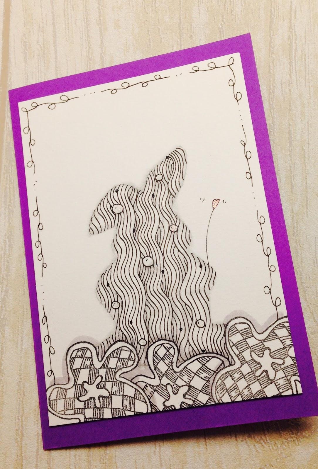 Frohe Ostern Karte.Die Seele Basteln Lassen Kreative Karten Happy Easter