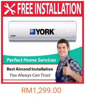 aircond murah dan jimat elektrik