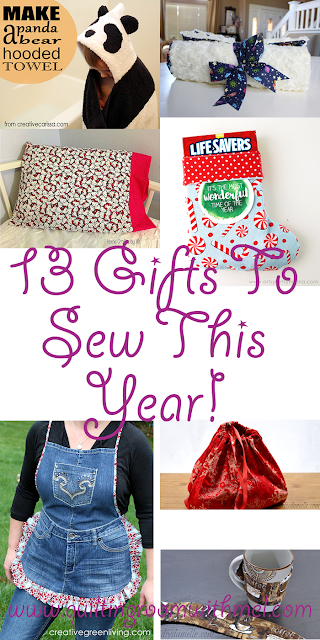 gifts to sew this year