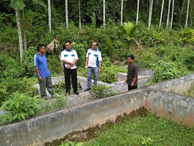 DPC PPWI Kabupaten Sijunjung Canangkan Program Budidaya Ikan Lele.