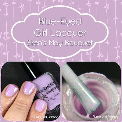 Blue-Eyed Girl Lacquer - Siren's May Bouquet