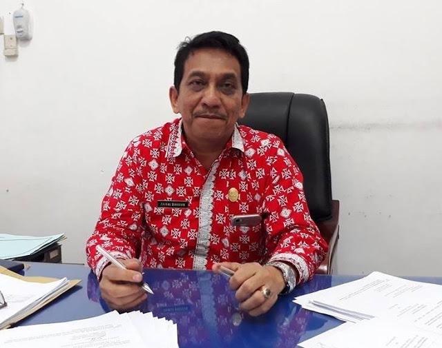 Kepala Badan Kepegawaian Daerah Pematangsiantar, Zainal Siahaan, SE
